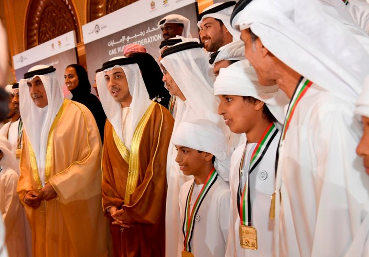 Mansour Bin Zayed Attends Ceremony Honouring UAE's